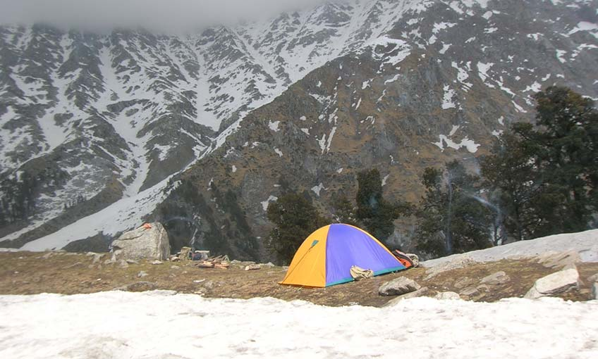 Mcleodganj to Snowline Trek